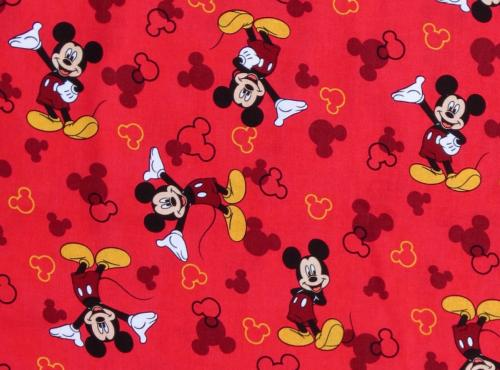 snood enfant rouge mickey