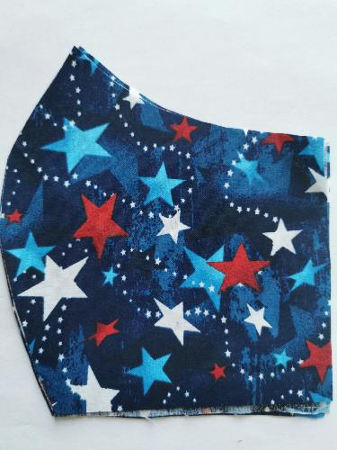 masque couture centrale 3/6 ETOILES AMERICAINE