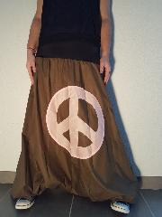 sarouel  kaki peace and love taille 36-40 1M60 1M65
