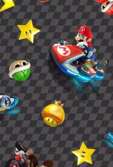 snood enfant mario kart