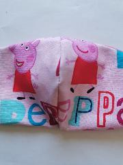 masque couture centrale 3/6 PEPPA PIG