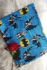 snood enfant bleu batman