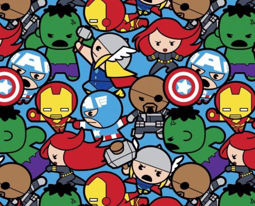 snood enfant  marvel kawaii 2