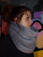snood polaire moumout gris