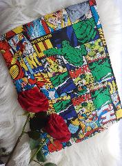 snood enfant  marvel vintage vignette